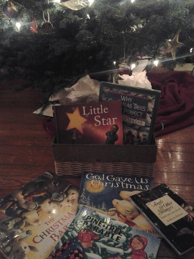 a few christmas books to share with children