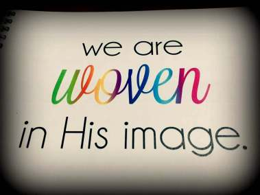 woven in his image