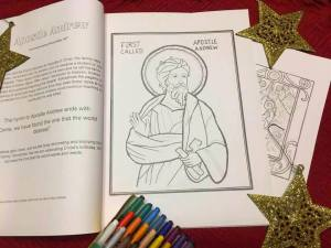 Color Your Way Through The Nativity Fast